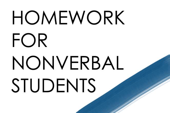 Speech Therapy Homework Calendar