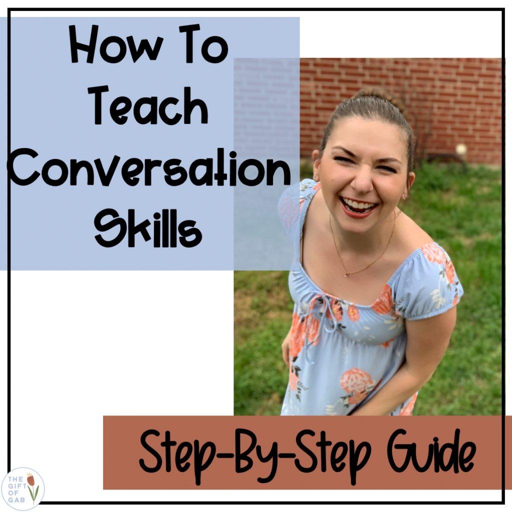 How to teach conversation skills