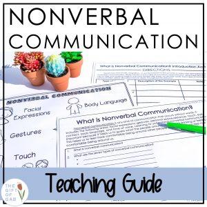 nonverbal communication teaching guide