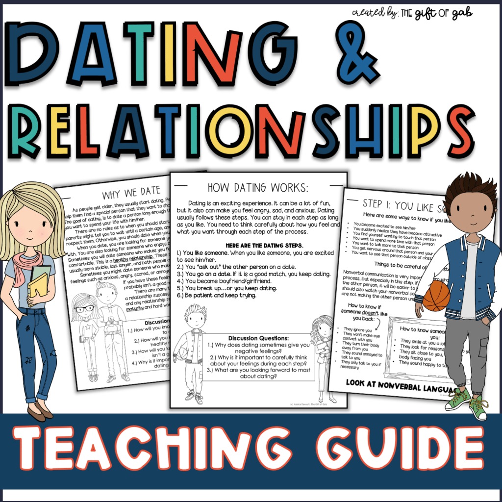 Dating and relationship social skills for autism