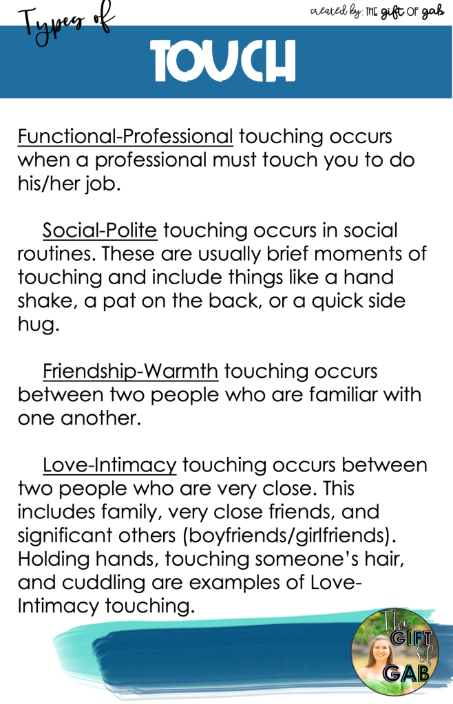 touch and nonverbal communication