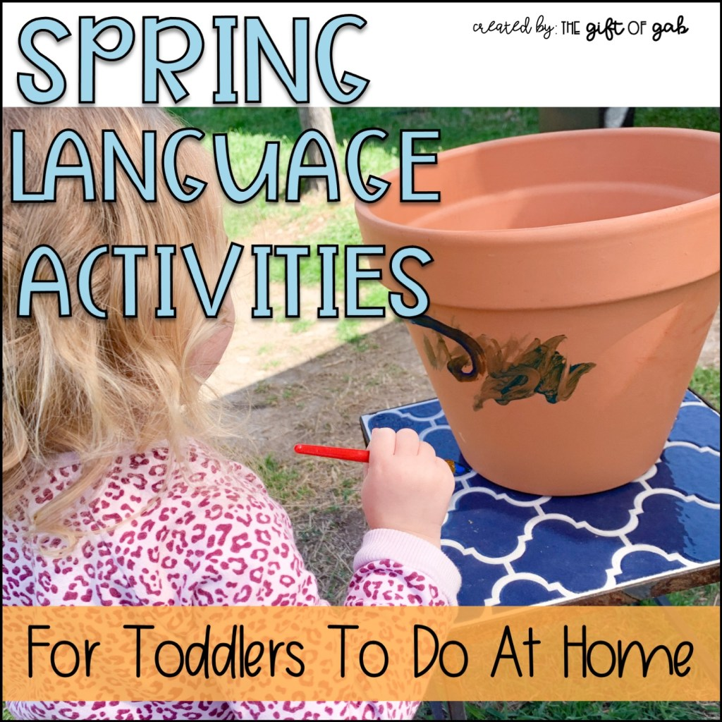 Toddler Speech Therapy at home