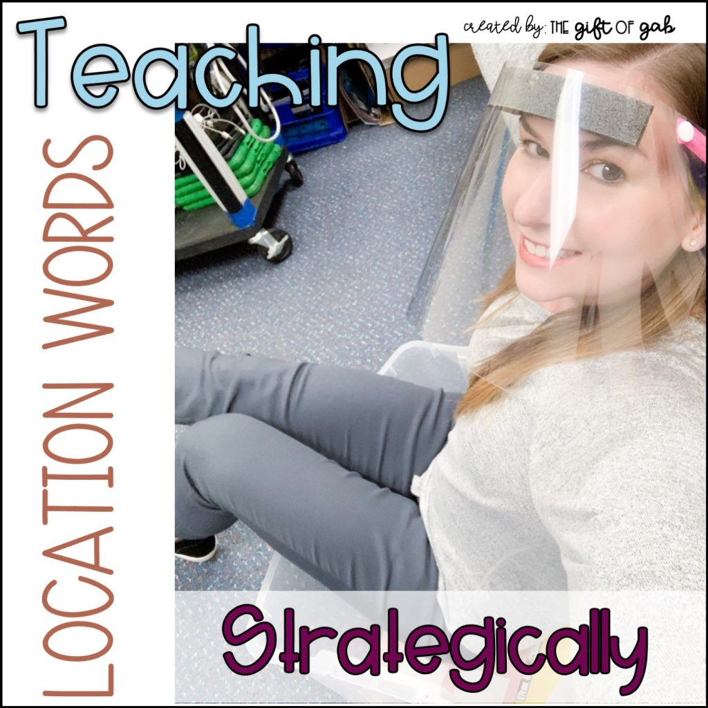 How to teach location words in speech therapy