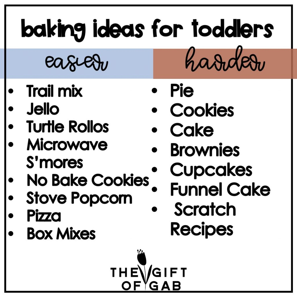 baking and cooking are great language rich activities to teach toddlers and preschoolers new words