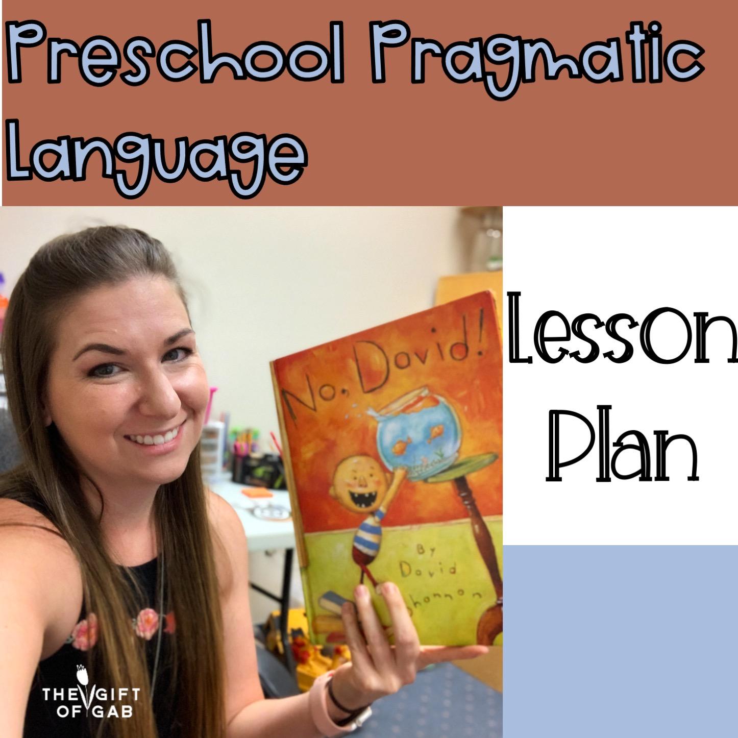 Preschool Pragmatic Language Activitie