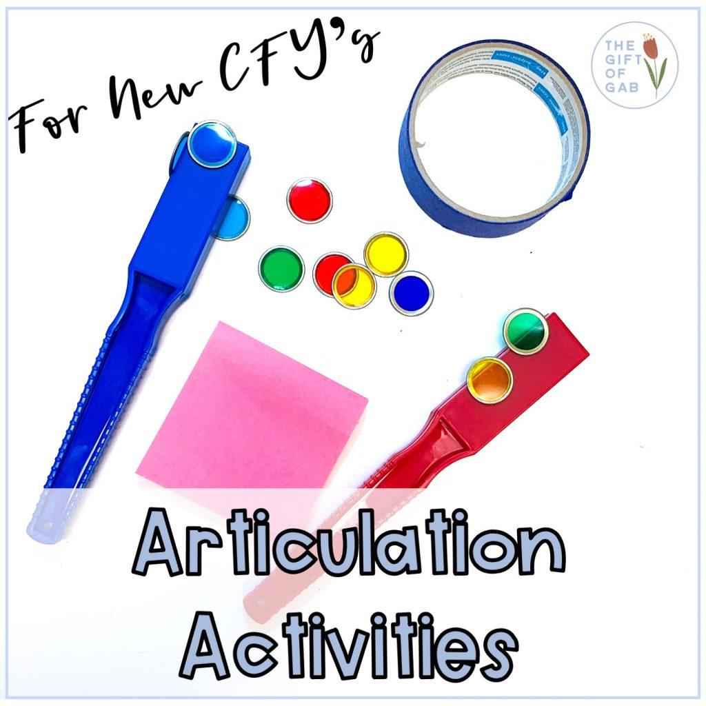 fun articulation activities